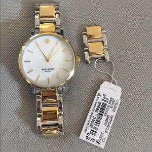 Kate Spade Gramercy Two-Tone Watch